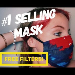 Premium Quality COMFORTABLE Adjustable Cotton Mask